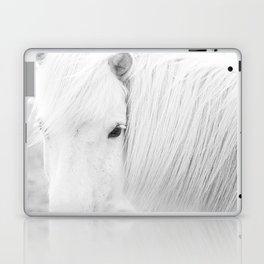 White Horse Photograph Laptop & iPad Skin