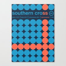 southern cross single hop Canvas Print
