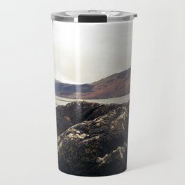 Scottish Highlands Rocky Shore Travel Mug
