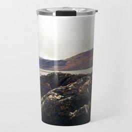 Scottish Highlands Rocky Shore Travel Mug