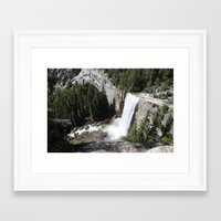 yosemite Framed Art Prints featuring Yosemite by Andy Little