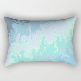 Colorful abstract background Rectangular Pillow