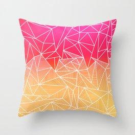 Bindi Rays Throw Pillow