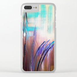 Into the Colorful Midst Clear iPhone Case