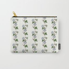 Ivy-Leaved Morning Glory Pattern Carry-All Pouch
