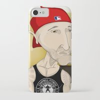 fitness iPhone & iPod Cases featuring Campbell Fitness Intro by Juan Perednik