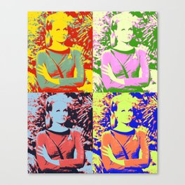 TREK BABE Canvas Print