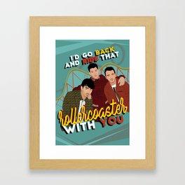 Jonas Brothers POSTER / CARD / WALLPAPER Framed Art Print
