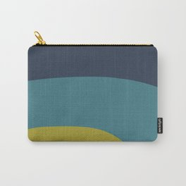 Miracle Rock in Yellow & Blue _Block Colour Carry-All Pouch