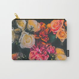 Floral I Carry-All Pouch