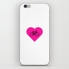 love my bike iPhone Skin