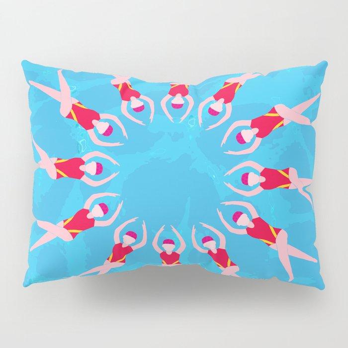 Synchronized Swimmers Pillow Sham
