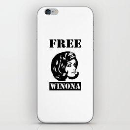 free winona iPhone Skin