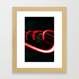 Red Coil (iPhone Cover) Framed Art Print