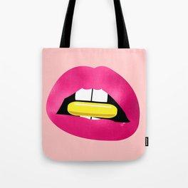 Lips N Pill Tote Bag