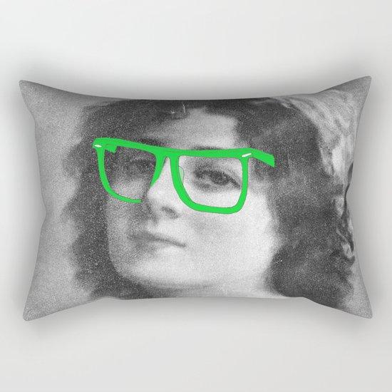 Josephine is a Hipster Rectangular Pillow