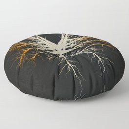 The Roots of Chaos Floor Pillow