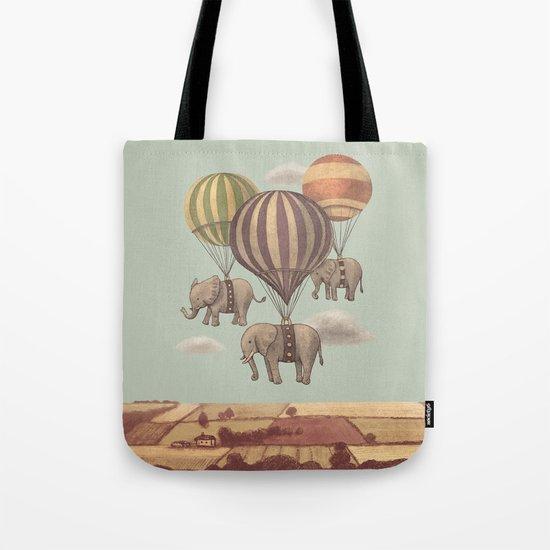 Flight of the Elephants - mint option Tote Bag