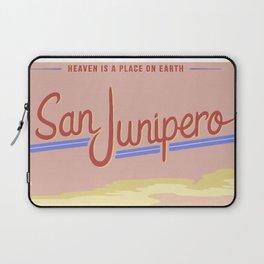 San Junipero Travel Laptop Sleeve