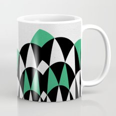 Modern Day Arches Green Coffee Mug