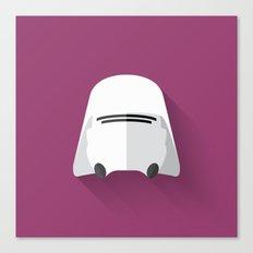 Snowtrooper Flat Design  Canvas Print