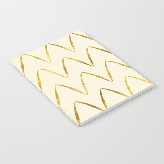 Cream Gold Foil 05 Notebook