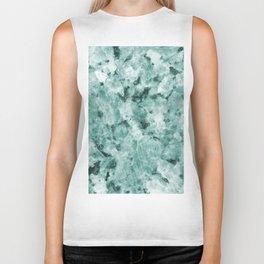 Mint Green Crystal Marble Biker Tank