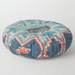Karabakh  Antique South Caucasus Azerbaijan Rug Print Floor Pillow