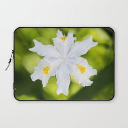 Japanese Roof Iris Laptop Sleeve