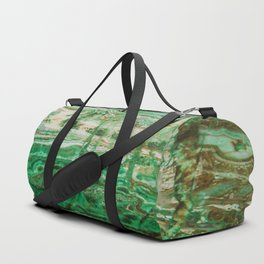 MINERAL BEAUTY - MALACHITE Duffle Bag