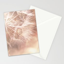 Pink Macro (2) Dandelion Flower - Floral Nature Photography Art and Accessories Stationery Cards
