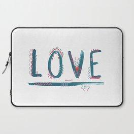 Love Love Love Laptop Sleeve