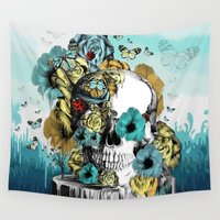 key Wall Tapestries featuring Key Largo by Kristy Patterson Design