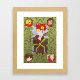Xiaolin Showdown Framed Art Print