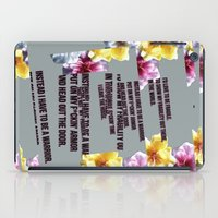 warrior iPad Cases featuring warrior by gasponce
