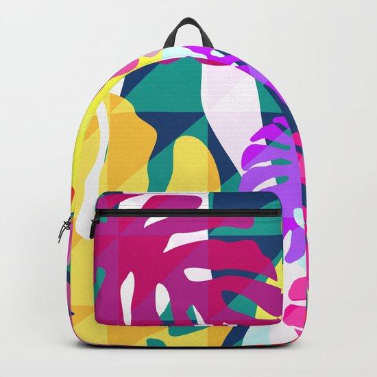 Tropical view II Backpack