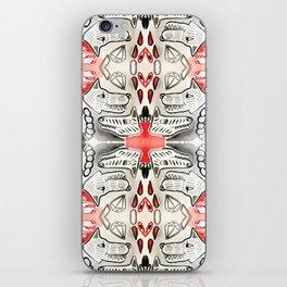 Black & Red Diamond Dogs iPhone Skin