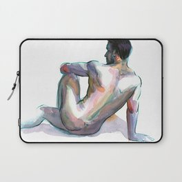 BRYAN, Nude Male by Frank-Joseph Laptop Sleeve