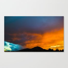 Camelback Mountain at Sunset Canvas Print