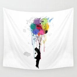 wild drips Wall Tapestry
