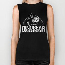Vintage Dinobear Biker Tank