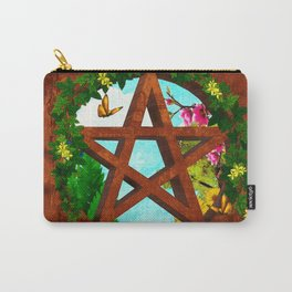 Oasis Pagan Folk Art Carry-All Pouch