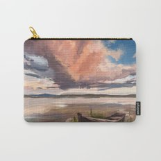 Sunrise over the lake Carry-All Pouch