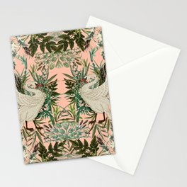 Romantic Swan Stationery Cards