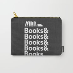 Books & Books & Books Carry-All Pouch