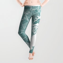 CITY OF QUEBEC (GREY) Leggings