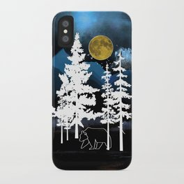 Full Moon Rising II iPhone Case