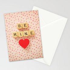 Be Mine Stationery Cards
