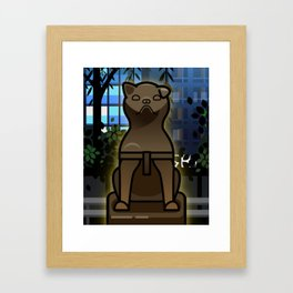 Hachiko Framed Art Print