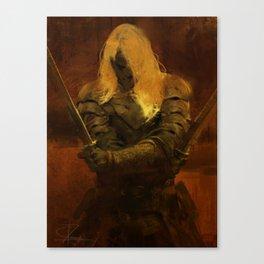 The Twin Swordsman Canvas Print